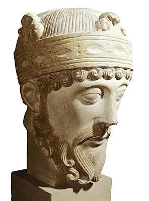 Lothair 941-986. King Of France Art Print by Everett