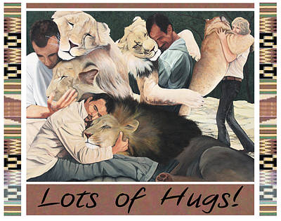 Painting - Lots Of Hugs by Cory Calantropio