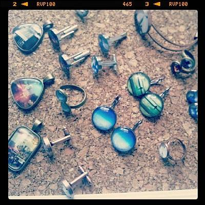 Jewelry Photograph - Lots Of New #jewelry For Lic Flea This by Lissette Padilla