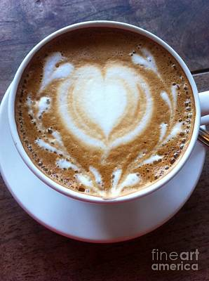 Photograph - Lotta Love Latte by Susan Garren