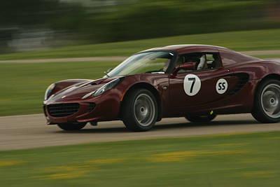 Lotus Sportscar Photograph - Lotus Autocross by Jaymes Grossman