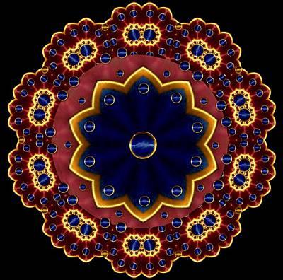 Lotus Bloom Art Print by Pepita Selles