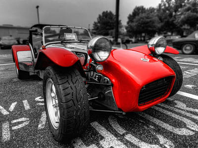 Photograph - Lotus Caterham Super 7 001 by Lance Vaughn