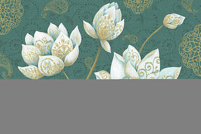 Lotus Dream Ib Art Print