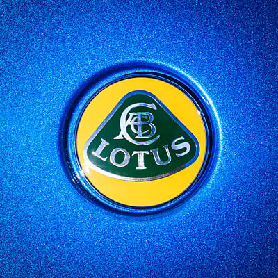 Photograph - Lotus Emblem -0495c by Jill Reger