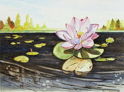 Painting - Lotus Fun by Kevin F Heuman