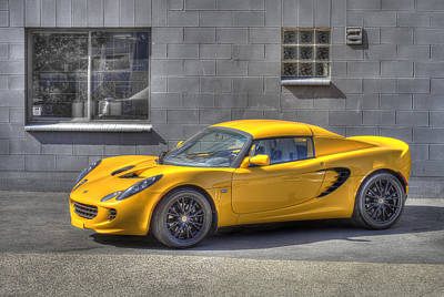 Lotus Sportscar Photograph - Lotus by Ik Henkle