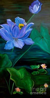 Lotus Art Print by Jenny Lee
