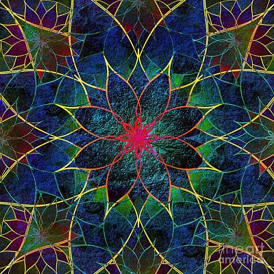 Lotus Art Print by Klara Acel