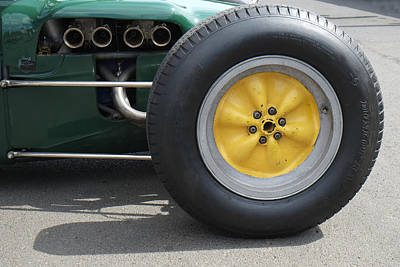 Knobbly Photograph - Lotus Knobbly Wheel by Adrian Beese