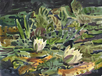 Painting - Lotus Pond by Donald Maier