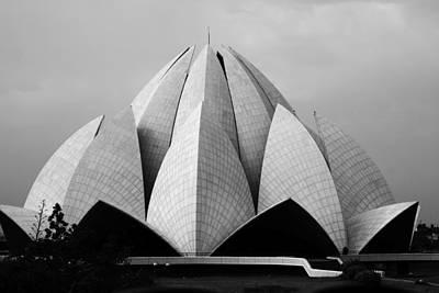 Photograph - Lotus Temple - New Delhi - India by Aidan Moran