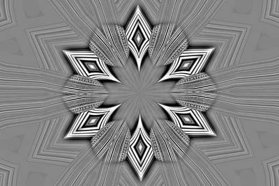 Digital Art - Loud Diamonds by T T