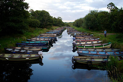 Photograph - Lough Leane Boats by David Beebe