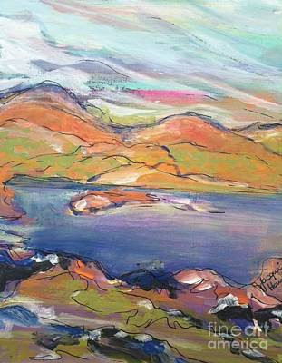 Painting - Loughrigg Fell Lake District by Jacqui Hawk