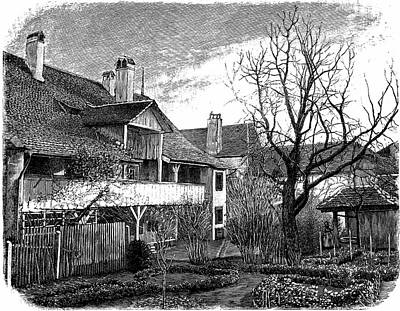 Louis Agassiz's Birthplace Art Print by Universal History Archive/uig