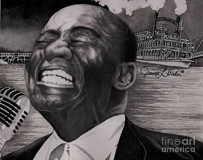 Diversity Painting - Louis Armstrong by JL Vaden
