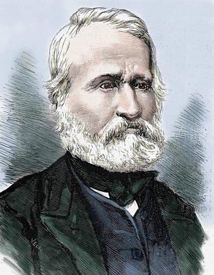Louis Auguste Blanqui (1805-1881 Art Print
