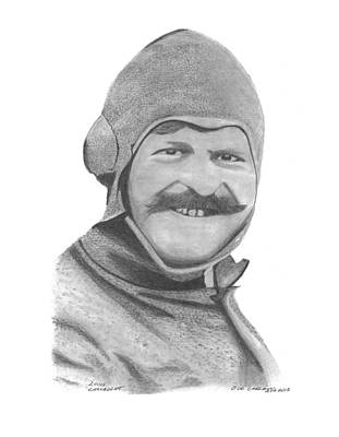 Buick Drawing - Louis Chevrolet by Bob and Carol Garrison