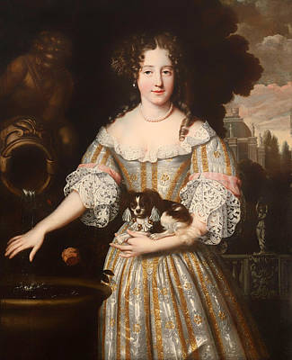 Louis De Keroulle - Duchess Of Portsmouth Print by Mountain Dreams