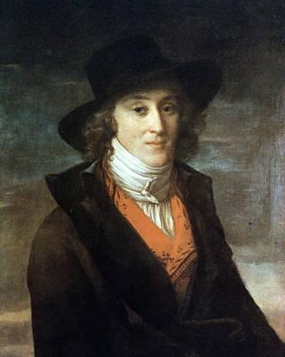 Adele Painting - Louis De Saint-just (1767-1794) by Granger