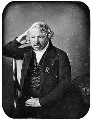 Photograph - Louis J. M. Daguerre by Granger