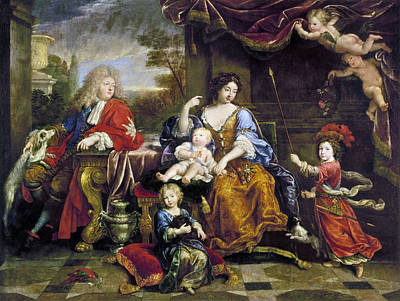 Duchess Painting - Louis Le Grand Dauphin (1661-1711) by Granger