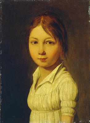 Louis-léopold Boilly, Malvina Mortier De Trévise Art Print
