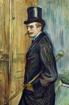 Aristocrat Painting - Louis Pascal by Henri de Toulouse-Lautrec