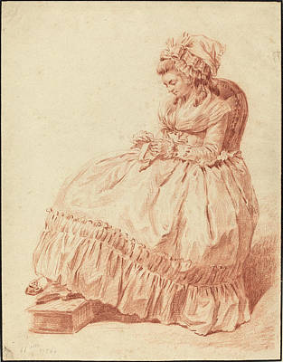 Louis Rolland Trinquesse French Art Print