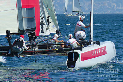 Louis Vuitton Cup Art Print by Giovanni Chianese