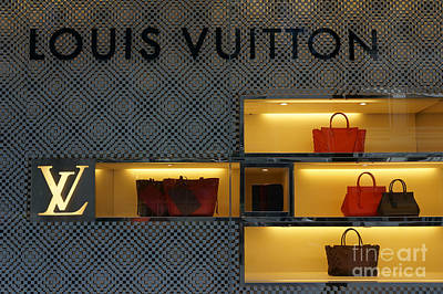 Photograph - Louis Vuitton Handbags by John  Mitchell