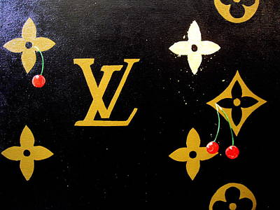 Louis Vuitton Wall Art - Painting - Louis Vuitton by Robert Cunningham
