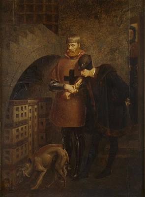 Jean-leon Gerome Painting - Louis Xi Visiting The Cardinal La Balue by Jean-Leon Gerome