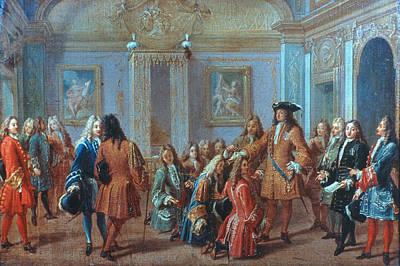 Louis Xiv, 1693 Art Print