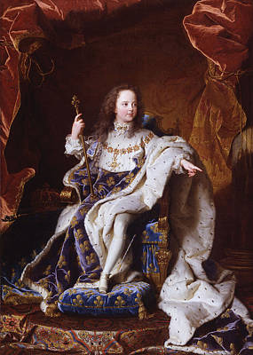 Louis Xv Painting - Louis Xv Of France by Mountain Dreams