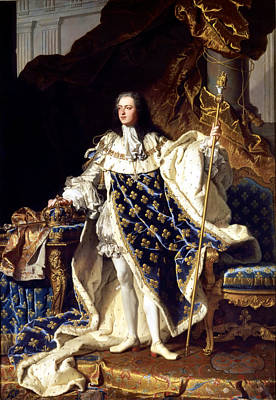 Louis Xv Painting - Louis Xv by Mountain Dreams