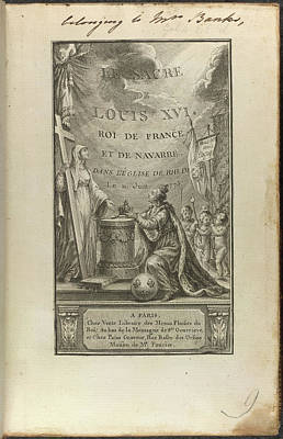 Louis Xvi Art Print by British Library