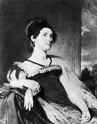 Louisa Painting - Louisa Catherine Adams (1775-1852) by Granger