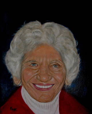 Painting - Louise Bryant by Bruce Ben Pope