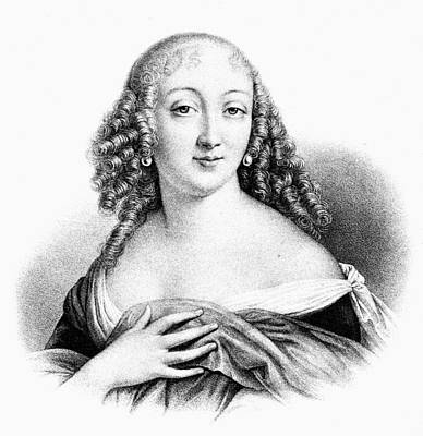 Duchess Painting - Louise De La Valliere (1644-1710) by Granger