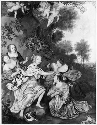 Duchess Painting - Louise De La Valliere(1644-1710) by Granger