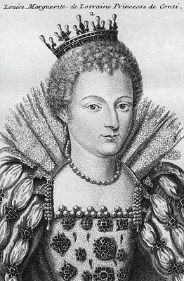 Duchess Painting - Louise Marguerite (1588-1631) by Granger