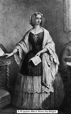 Louise Of Orleans (1812-1850) Print by Granger