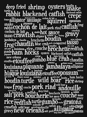 Louisiana Cajun Heaven 20130625bw Art Print