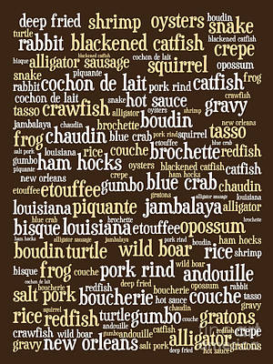 Louisiana Cajun Heaven 20130625bwwa85 Art Print