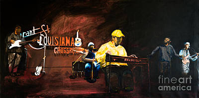 Painting - Louisiana Crossroads by Jock McGregor