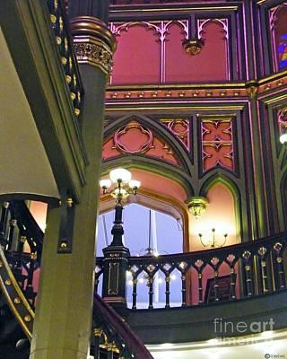 Photograph - Louisiana Old Capitol Stairview by Lizi Beard-Ward