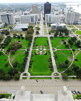 Photograph - Louisiana State Capitol Lawn by Lizi Beard-Ward