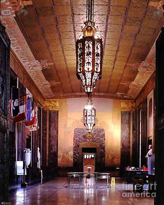Photograph - Louisiana State Capitol Memorial Hall by Lizi Beard-Ward